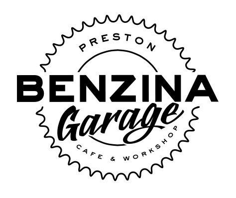 """Enjoy a coffee, service your bike and eat an authentic mexican Taco at Benzina Garage in Preston just outside of Melbourne!"""